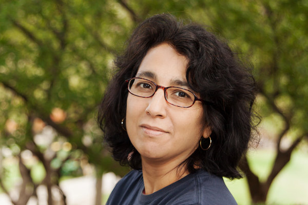 Author Geeta Kothari. Heather Kresge