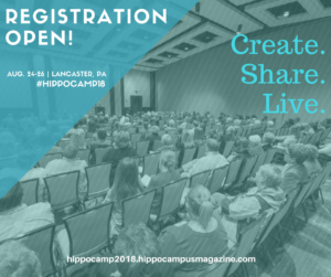 Register for HippoCamp in Lancaster, PA.